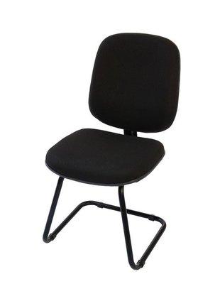Cadeira Diretor Tecido Preto Base Aproximação