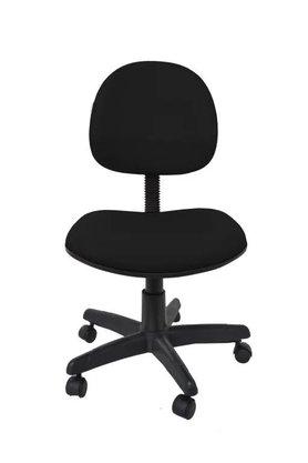 Cadeira Executiva Tecido Preto Giratória