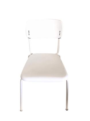 Cadeira Joy Fixa 4 pés Branca- Cavaletti