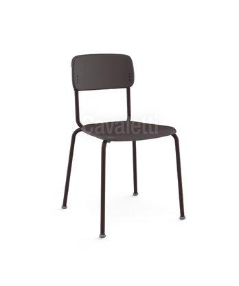 Cadeira Joy Fixa 4 pés Preto- Cavaletti