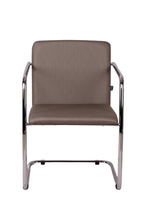 Cadeira Lotus Aprox. Champanhe c/ estrutura Cromada