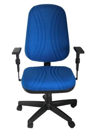 Cadeira Pres. Startplus Gir. Azul Base/Braços Reg.Preto-Cavaletti