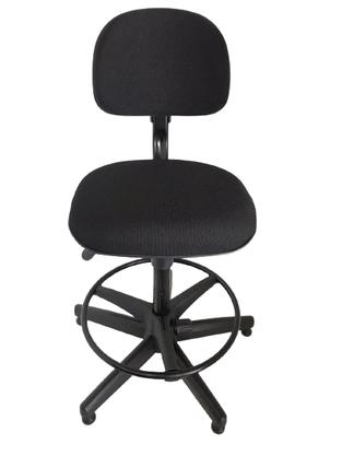 Cadeira Sec. Start Gir.Base Caixa Fixa Preta Reg.de Altura/Aro-Cavaletti