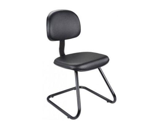 Cadeira Secretária Courino Preto Base Aproximação