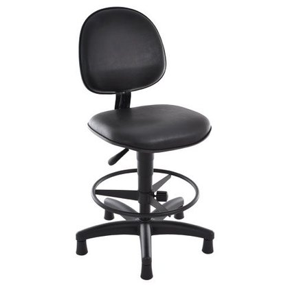 Cadeira Sec. Stilo Gir.Base Caixa Fixa Preta Reg. Altura/Aro-Cavaletti