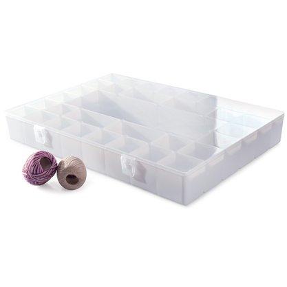 Caixa Org. de Plástico c/33 Div.495x377x67mm-Branca