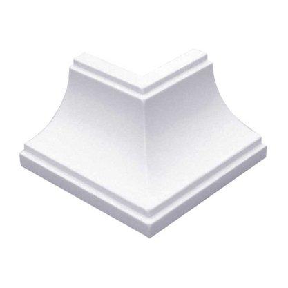 Canto Forro PVC Externo 40 X 40mm Branco