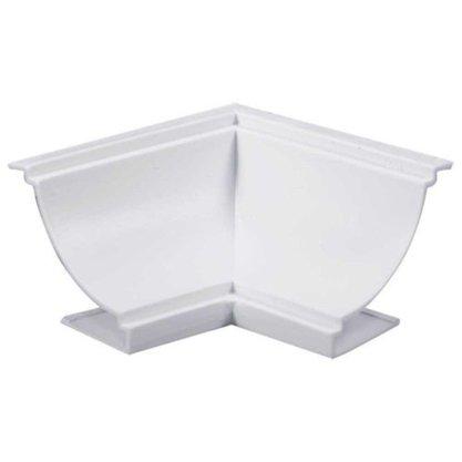 Canto Forro PVC interno 40 X 40mm Branco