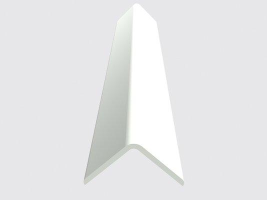 Cantoneira de PVC Branca 20x20mm - Barra com 6mts