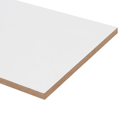 Chapa MDF 2 faces 2750X1840MM Branco- valor por chapa