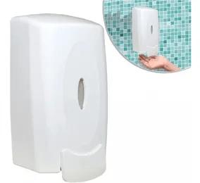 Dispenser visor p/ Sabão Líquido/Álcool em Gel 950ML Branco