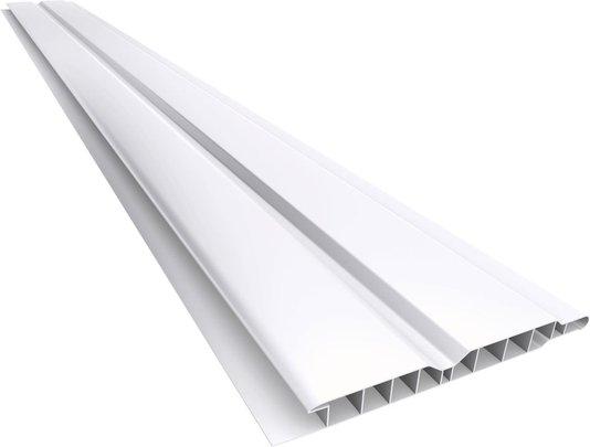 Forro PVC Canelado 100mm Branco Plasbil - Placa