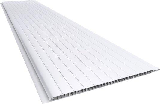 Forro PVC Frisado 200X7mm Branco Plasbil - Placa