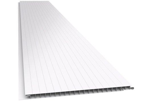 Forro PVC Fris.Junta Seca 200x10mm Branco Plasbil-Placa