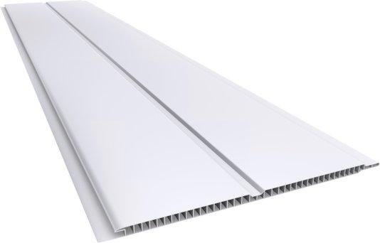 Forro PVC Gêmini Liso 200x7mm Branco Plasbil - Placa