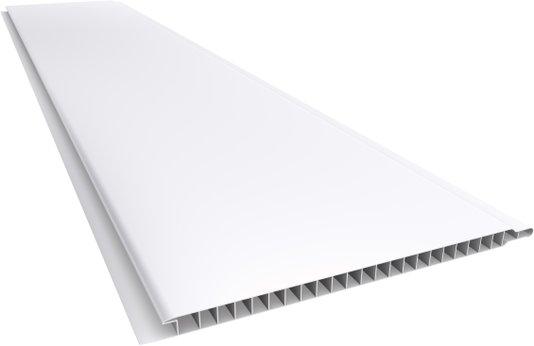 Forro PVC Liso 200x10mm Branco Plasbil - Placa