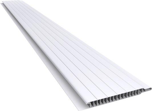 Forro PVC Nobre Frisado 100x10mm Branco Plasbil-Placa