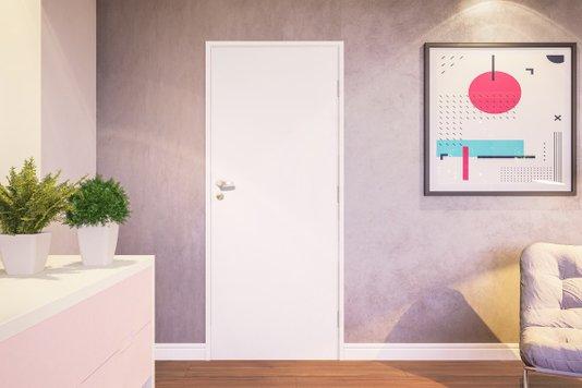 Kit Completo para Porta Drywall Branco