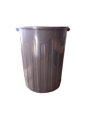 Lixeira Plástica 65 litros Marrom