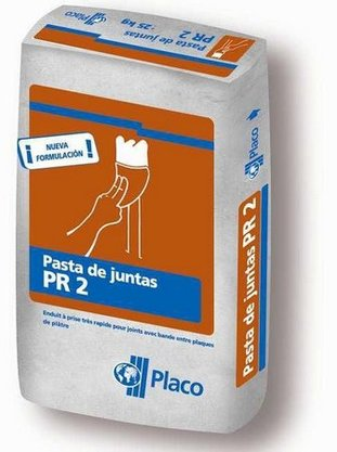Massa p juntas Gesso Drywall Placojoint PR2 Placo-25kg