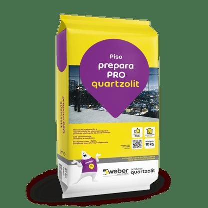 Massa Preparação Prepara Pró p/ Pisos-Quartzolit 10kg