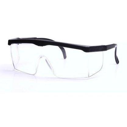 Óculos de Proteção Incolor com Reg. e Contorno Preto