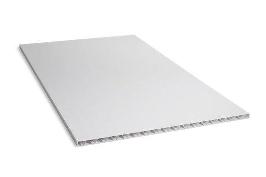 Painel de Divisória PVC 1200X2100X35mm Branco- Placa