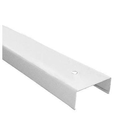 Perfil Calha p divisória N19 35x0,43mm- Branco Rúpia