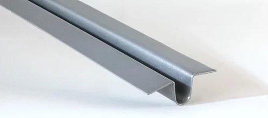 Perfil Cartola liso p/ estrutura 32x10x5000mm- 5mts