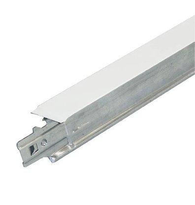 Perfil clicado T Long. TF38 Forro modular 24x3125x38mm Branco-3,125mts