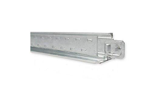 Perfil clicado travessa TF38 Forro modular 24x1250x26mm Branco-1,25mts