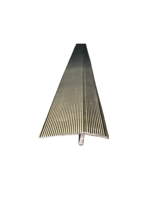 Perfil de Alumínio Redutor 35x3000mm Champanhe- Barra com 3mts
