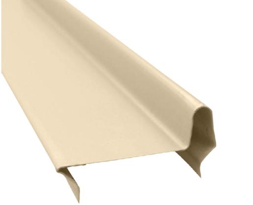 Perfil divisória batente superior de porta N21AH 35x832x0,50mm-Areia Pérola