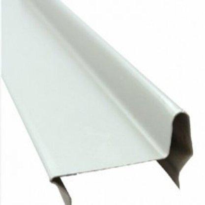 Perfil divisória batente superior de porta N21AH 35x832x0,50mm-Branco Rupia