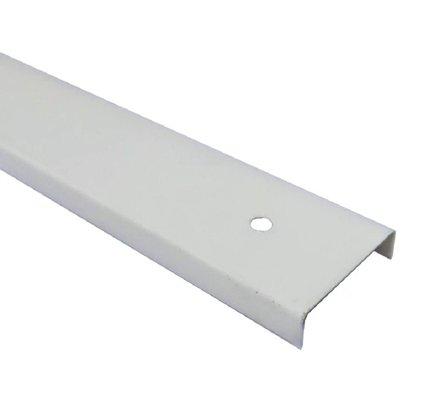 Perfil Divisória Requadro de Porta N21B 35x0,43mm-Branco Rupia