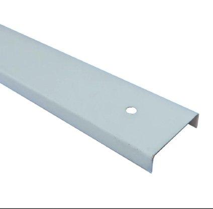 Perfil Divisória Requadro de Porta N21B 35x0,43mm-Cinza