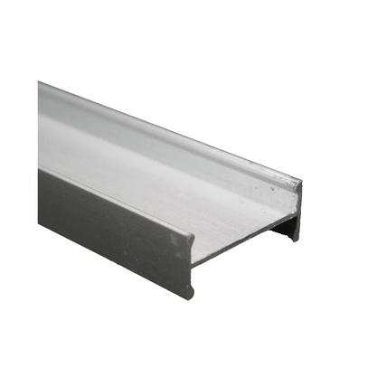 Perfil H Alumínio p/ Divisória DV-021 41x6000mm-6mts