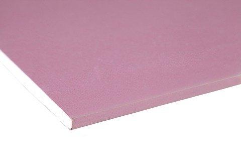 Placa de gesso drywall resistente ao fogo Placo 1200x1800x12,5mm