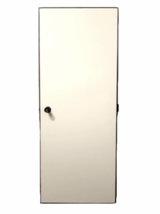 Porta Eucatex 820X2100x35mm cor Areia Jundiaí