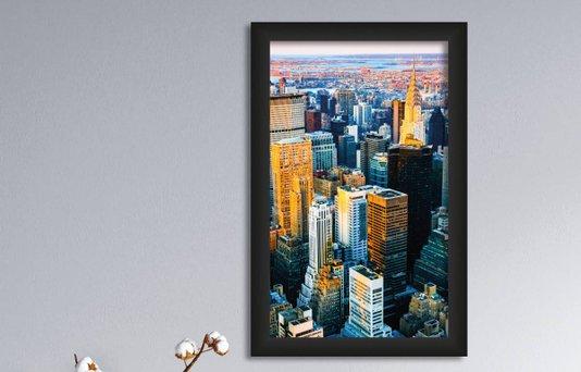 Quadro Decorativo em PVC Empire State