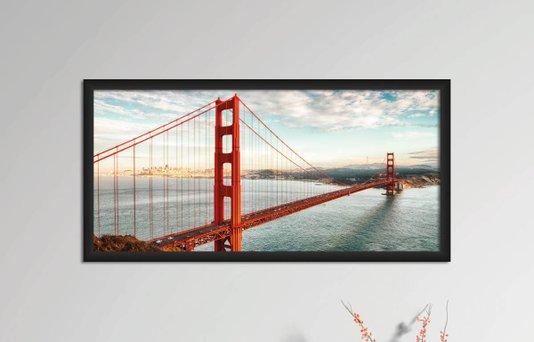 Quadro Decorativo em PVC Golden Gate