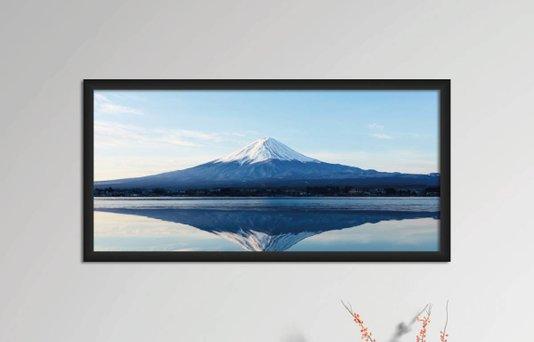 Quadro Decorativo em PVC Monte Fugi