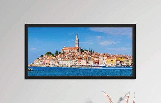 Quadro Decorativo em PVC Rovinj Croácia