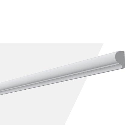 Rodameio Boiserie de PU S3 20x30x2000mm Branco Gart-2m