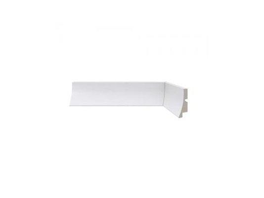 Rodapé Santa Luzia de Poliestireno Moderna 441 5cm Branco-2,40mts