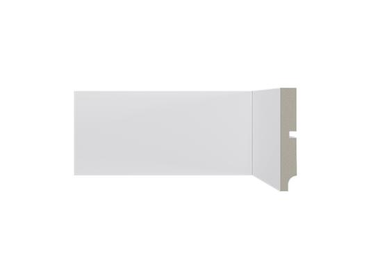 Rodapé Santa Luzia Poliestireno Moderna 547 100x16mm Branco-2,40m