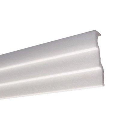 Rodateto Isopor R90N 25x90x2000mm Branco- 2mts
