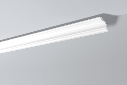 Rodateto Poliestireno A1 80X80x2000mm Branco Gart-2m