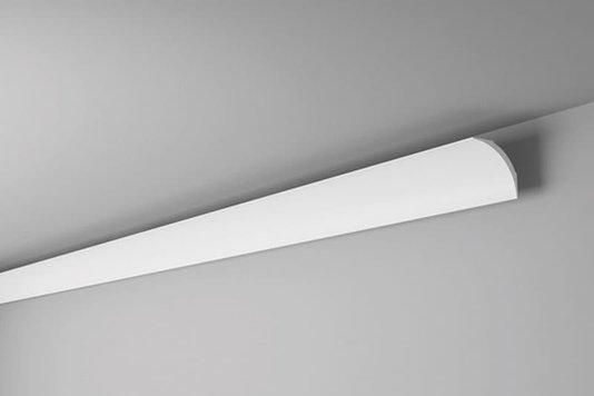 Rodateto Poliestireno NE2 60X60x2000mm Branco Gart- 2m