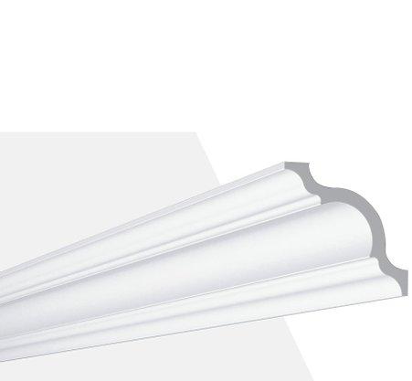Rodateto Poliestireno A 110X110x2000mm Branco Gart-2m